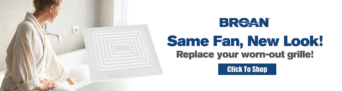 Same Fan, New Look! Replace your worn-out grille!
